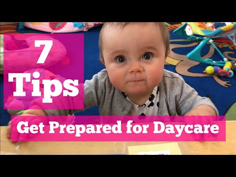 7 Tips To Prepare For Daycare - TLCSchools.com Plano TX uploaded to TLCSchools.com Texas
