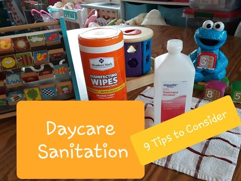 Daycare Sanitation: 9 Tips To Consider - TLCSchools Plano TX uploaded to TLCSchools.com Texas
